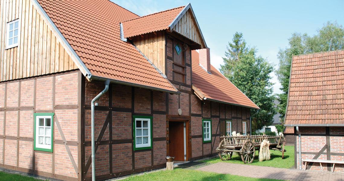 Heimatzentrum Hövelhof: historisches Handwerkhaus