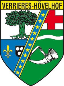 Wappen Verrières und Hövelhof